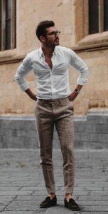 αντρικό υφασμάτινο παντελόνι