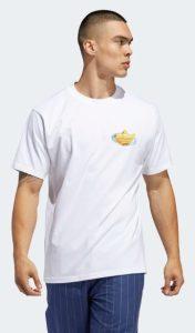 άσπρο ανδρικό μπλουζάκι