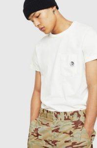 ασπρη μπλουζα αντρικη