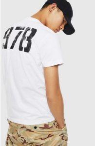 λευκη με αριθμους μπλουζα ντιζελ