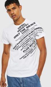 ντιζελ απση μπλουζα με γραμματα