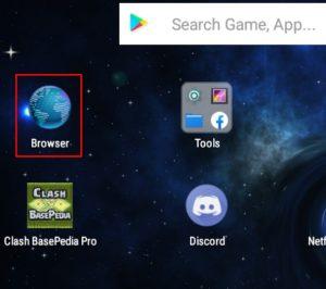 αναζήτηση google με nox player