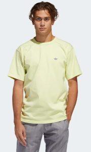 κίτρινη παστέλ μπλούζα για άντρες