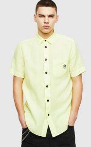 κιτρινο πουκαμισο diesel