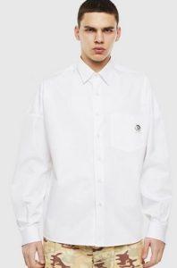 ασπρο πουκαμισο ντιζελ