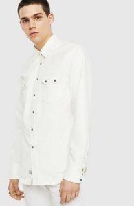 λευκο πουκαμισο αντρικο diesel