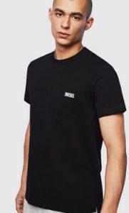 μαυρο t shirt diesel