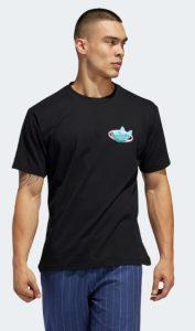 μαύρη ανδρική μπλούζα