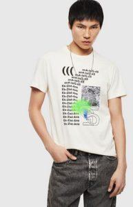 κοντομανικο diesel μπλουζακι