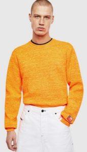 πορτοκαλι μπλουζακι diesel