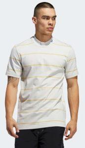 ριγέ άσπρη μπλούζα adidas