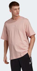 ροζ ανοιχτό ανδρικό μπλουζάκι