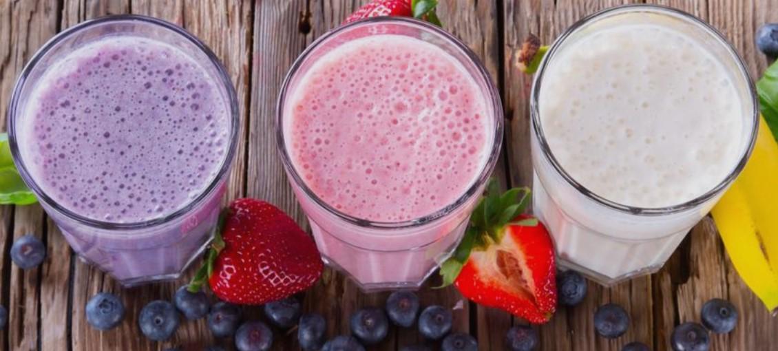 συνταγές smoothie με πρωτεΐνη