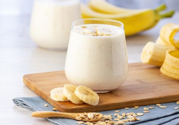 smoothie με μπανάνα-χωρίς γάλα