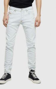 λευκο τζιν παντελονι αντρικο