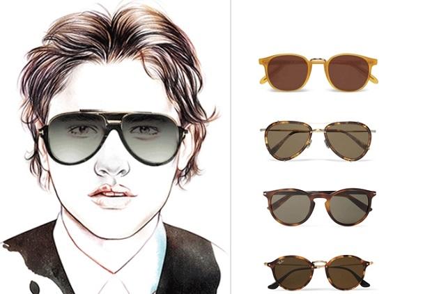 γυαλιά ηλίου σχήμα προσώπου