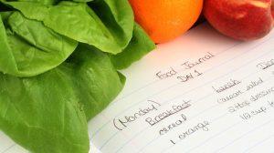 ημερολόγιο φαγητού λόγοι δε χάνεις κιλά