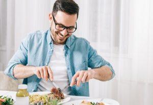 ισορροπημένη διατροφή άντρες μαλλιά