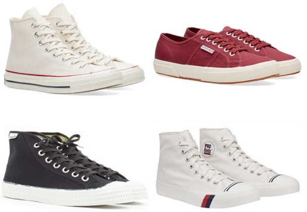 πάνινα ανδρικά παπούτσια all star converse