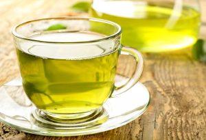 πράσινο τσάι ποτήρι