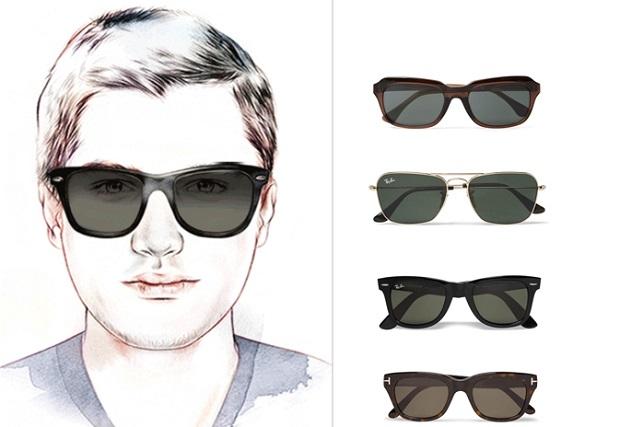 στρόγγυλο πρόσωπο σχήμα γυαλιών