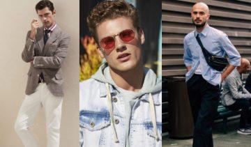 αντρικά ρούχα και αξεσουάρ για το καλοκαίρι