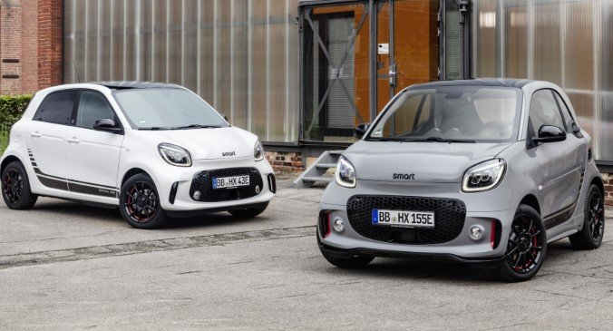 smart fortwo & forfour eq