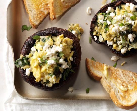 μανιτάρια για το πρωινό σου