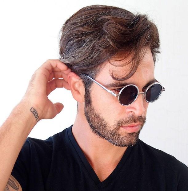 μικρά στρογγυλά ανδρικά γυαλιά
