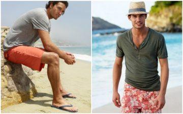 να πάρει ένας άνδρας στη παραλία