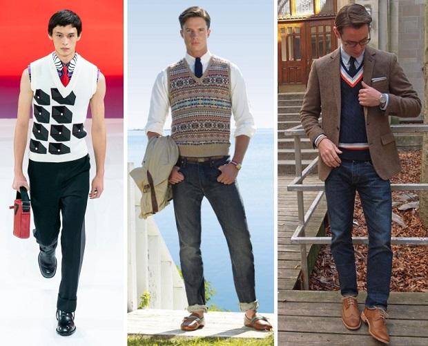 ανδρικά γιλέκα χειμερινά outfits