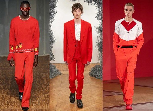 κόκκινα αντρικά ρούχα χειμώνας 2021