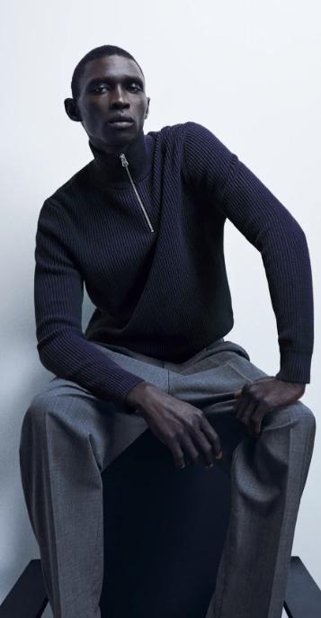 ανδρικά πουλόβερ με φερμουάρ