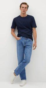 αντρικό τζιν παντελόνι