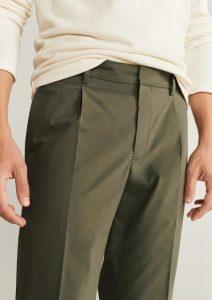 επίσημο χακί αντρικό παντελόνι