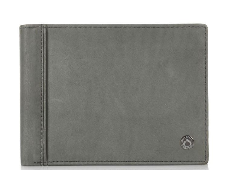 γκρι αντρικό πορτοφόλι
