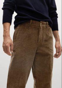 καφέ παντελόνι αντρικό