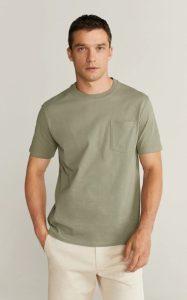 κοντομάνικη αντρική μπλούζα