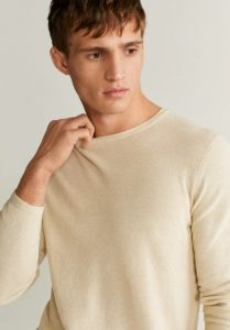 κρεμ αντρικό πουλόβερ