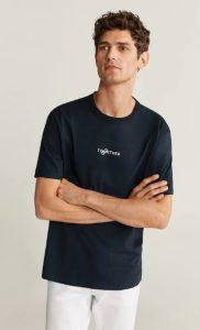 μαύρο αντρικό μπλουζάκι