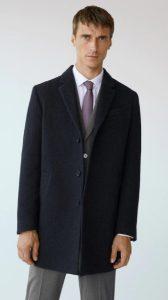 μαύρο παλτό για άντρες