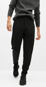 μαύρο αντρικό παντελόνι