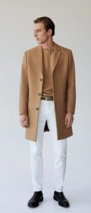 μπεζ αντρικό παλτό