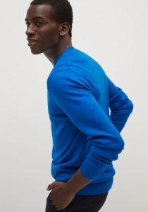 μπλε πουλόβερ αντρικό