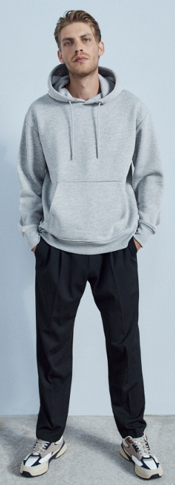 oversized ανδρικά παντελόνια