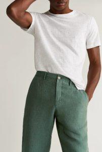 πράσινο αντρικό παντελόνι