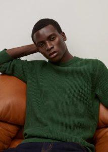 πράσινο αντρικό πουλόβερ