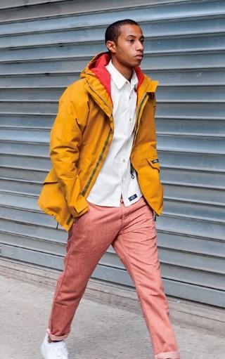χρωματιστό αντρικό ντύσιμο τον χειμώνα