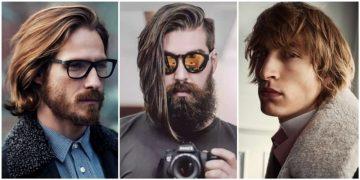 ανδρικά χτενίσματα για μεσαία και μακριά μαλλιά