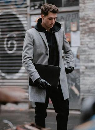 παλτο ανδρικο με φουτερ